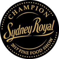Sydney Royal 2017 Champion Regional Food Speciality Product